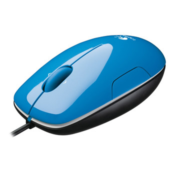 Logitech LS1 Laser Mouse (Aqua Blue)