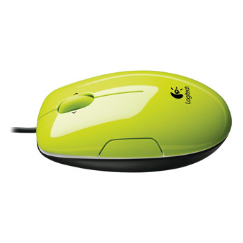 Logitech LS1 Laser Mouse (Acid Yellow)