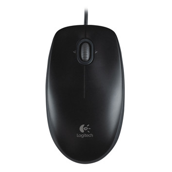 Logitech OEM - B110 Optical USB Mouse black