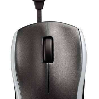 Logitech M125 Corded Mouse silver