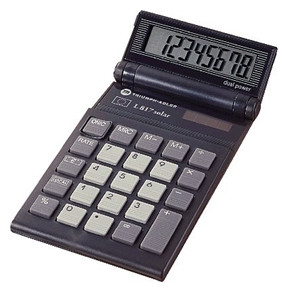 Triumph Adler TA L 17 Solar pocket calculator <KUN UK MANUAL>