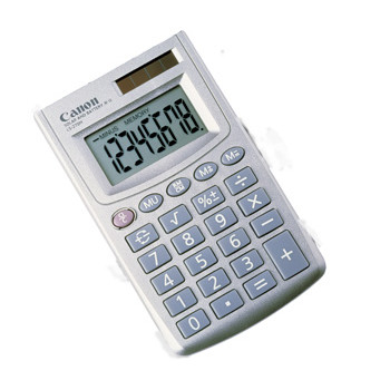 Canon Canon AS-8 pocket calculator