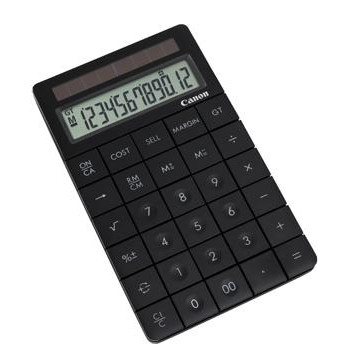 Canon X Mark I desk display calculator black >design&lt;