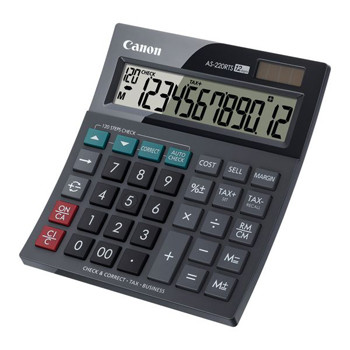 Canon Canon AS-220RTS desktop calculator