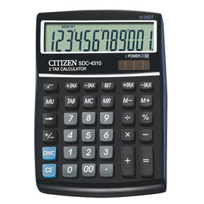 Citizen Citizen SDC 4310 desktop calculator