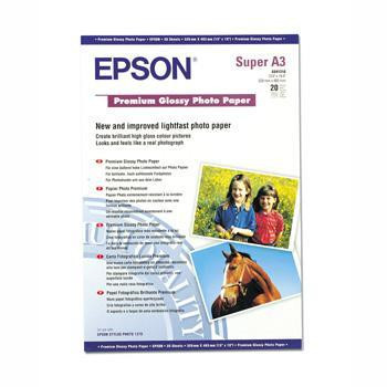 Epson A3+ premium glossy photo paper