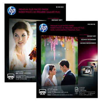 HP A4 Premium Plus photo paper 300g (20)