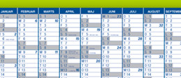 Mayland kalendere