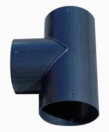 Tee SN8 for Drainage pipe PP