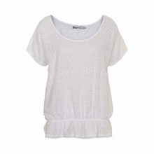 OCCUPIED VIOLETTE  BLOUSE 012212