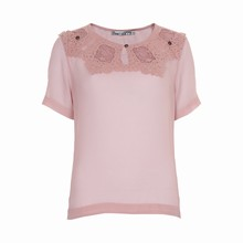 OCCUPIED FIONA S/S BLOUSE 012904