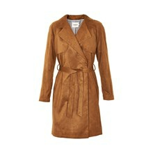 SOAKED IN LUXURY MAYA SUEDE TRENCHCOAT 30401222