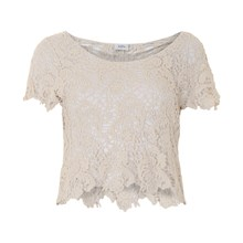 KAFFE SALLY LACE TOP 530315