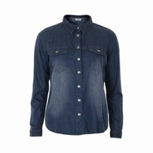 KAFFE TRICIA DENIM SHIRT 53034