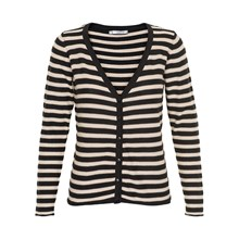 KAFFE ISOLDE STRIBE CARDIGAN 540139