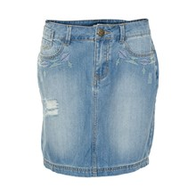 KAFFE DEMI DENIM NEDERDEL 540361