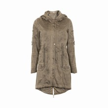 CREAM BERRY PARKA COAT 630149