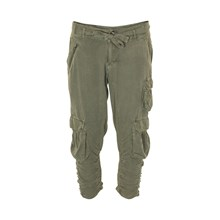 CREAM TIA BAGGY PANTS 632053