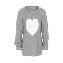 CREAMIE HEART PULLOVER 835095