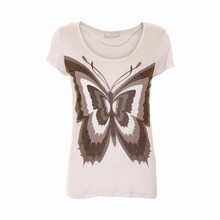 CREAM BUTTERFLY T-SHIRT 631479