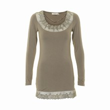 CREAM FLORENCE  LS TOP 631491