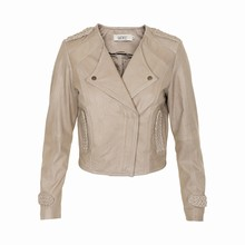 KAFFE GRACE LEATHER JACKET 530238