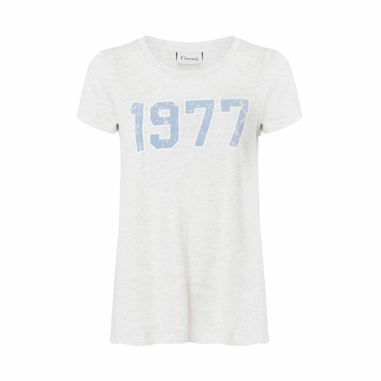 GANNI TOTALLY T-SHIRTS T1063 T-SHIRT