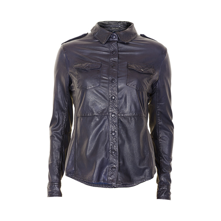 STELLA NOVA GLOVE LEATHER SHIRT 1406-4012