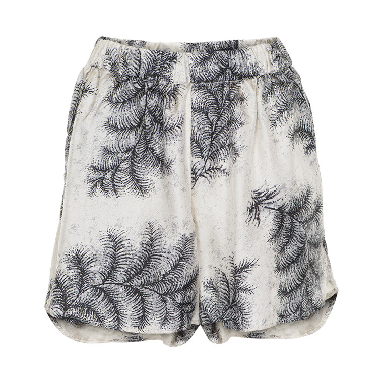 STELLA NOVA FEATHER SILK SHORTS 1551-4492