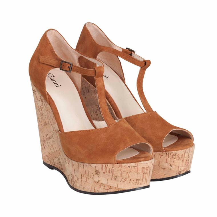 GANNI FLORA S0282 WEDGE