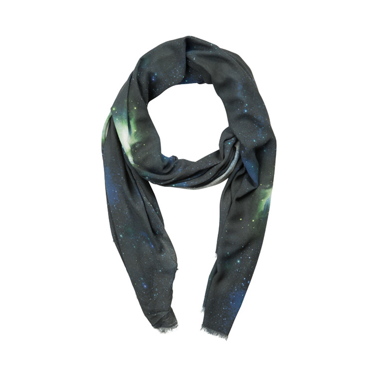 TUSNELDA BLOCH 560-5035 BIG SCARF BU