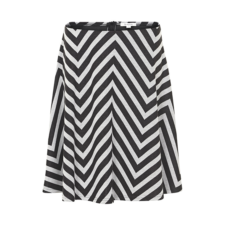 ST-MARTINS EBONY SKIRT B