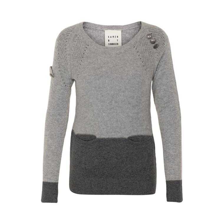 KAREN BY SIMONSEN BIBBIA SWEATER 43027