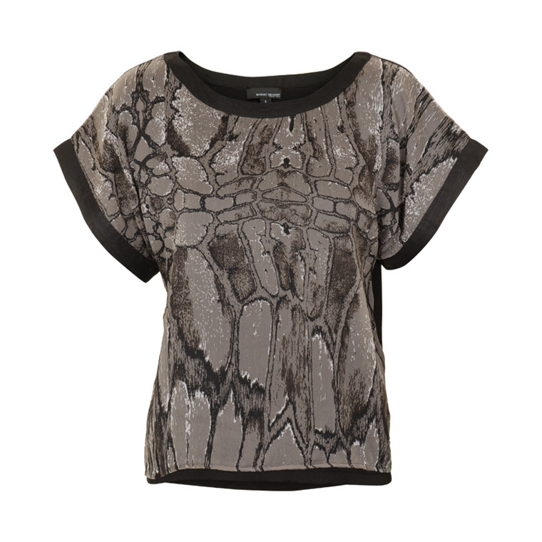 MARGIT BRANDT BONE T-SHIRT