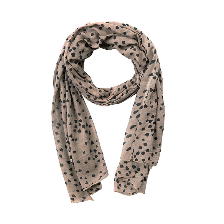 NORR SMALL HEARTS SCARF F