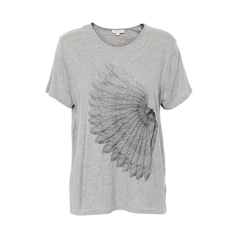 SUIT FEMALE OLENA FEATHER T-SHIRT