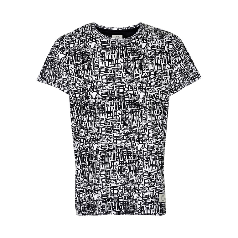 SUIT MALE PUZZLE T-SHIRT