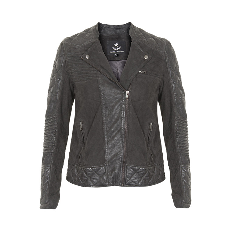 MUNTHE COPENHAGEN LEATHER JACKET