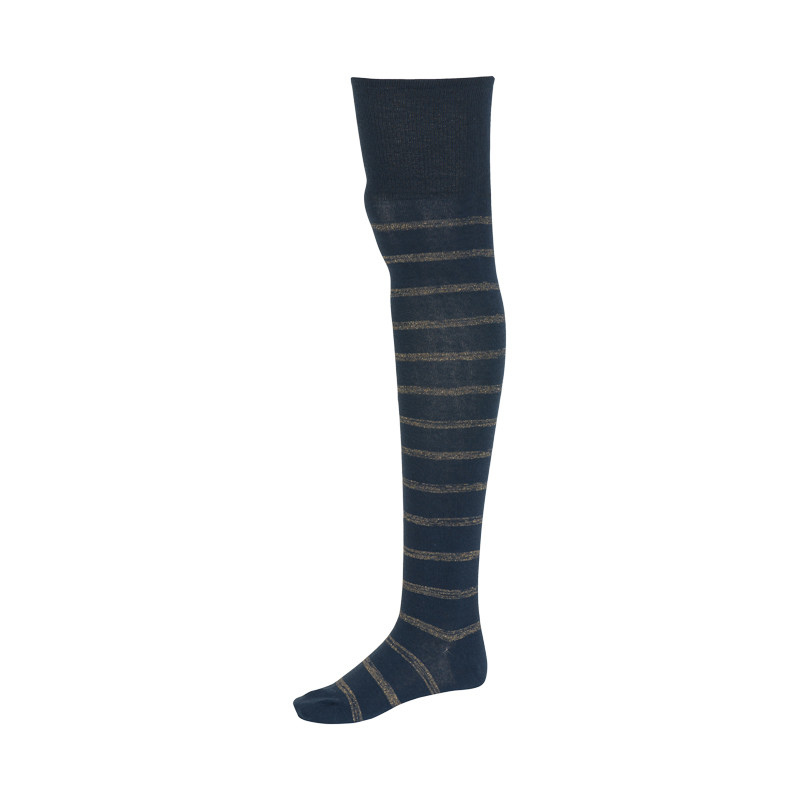 Ganni Lurex Striped Socks