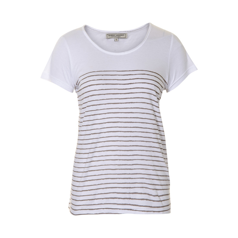 MARGIT BRANDT STRIPES T-SHIRT F