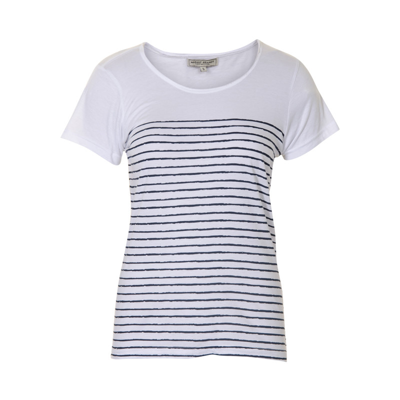 MARGIT BRANDT STRIPES T-SHIRT