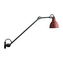 Lampe Gras 304L60 Væglampe Sort - Rød fra DCW Éditions