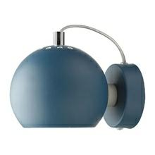 Ball Væglampe - Petroleumsblå Fra Frandsen