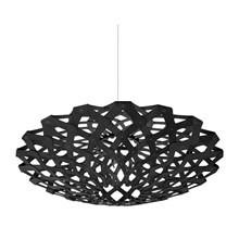 Flax Black Pendel Lampe fra David Trubridge
