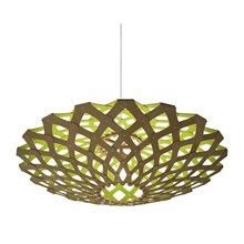 Flax Lime pendel Lampe fra David Trubridge