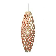 Hinaki Pendel Red Lampe fra David Trubridge