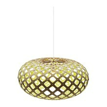 Kina Lime pendel Lampe fra David Trubridge