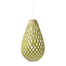 Koura Lime pendel Lampe fra David Trubridge