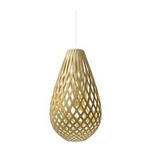 Koura Natural pendel Lampe fra David Trubridge