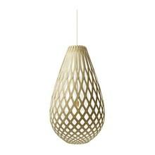 Koura White pendel Lampe fra David Trubridge